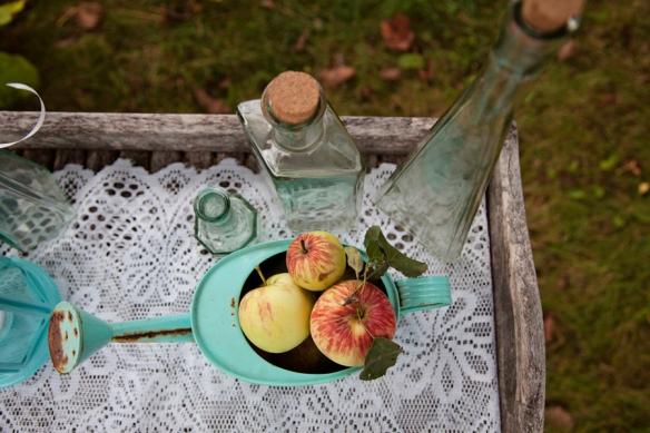 apples decor wedding haliburton