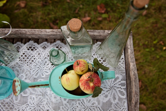 apples decor wedding haliburton