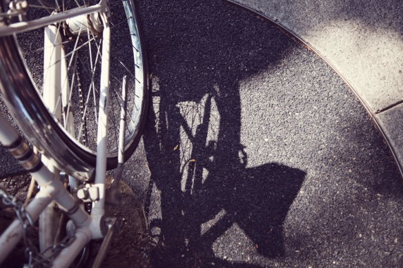 bicycle shadow fashio