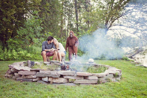 bigfoot engagement campfire