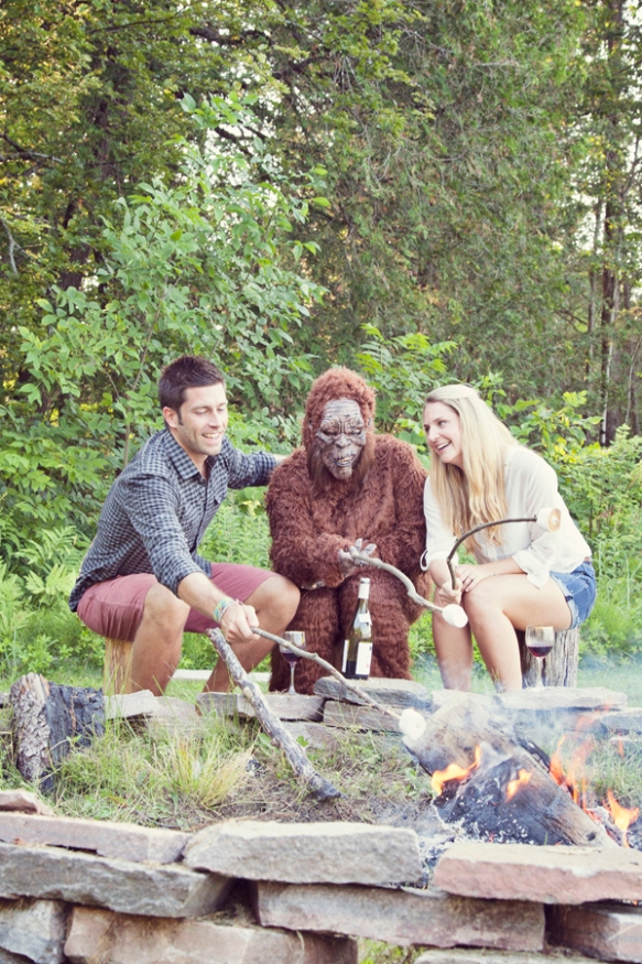 bigfoot engagement laughing