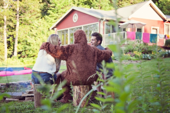 bigfoot engagement friends
