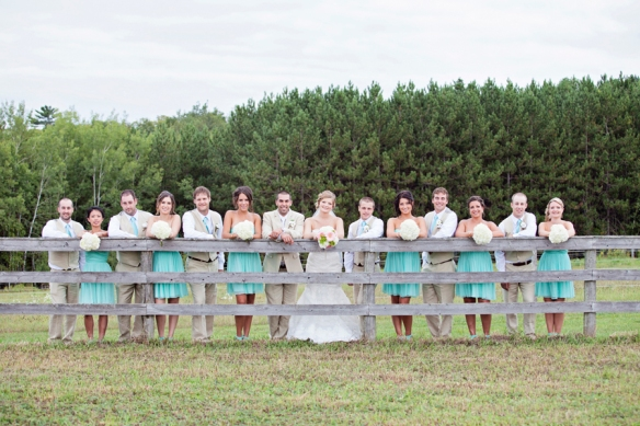 bridal party fence haliburton