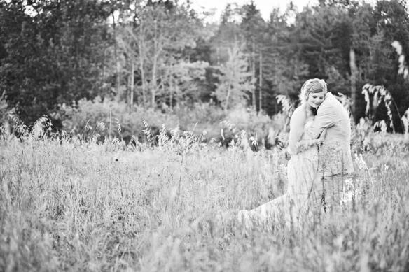 wedding bride field