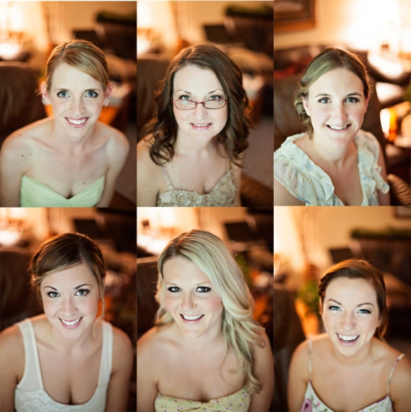haliburton bridesmaids wedding