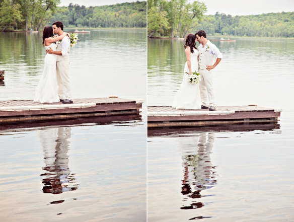 wedding couple bonnie view inn