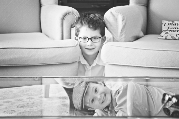 brother playing portrait Haliburton
