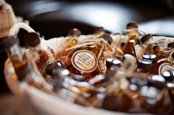 maple syrup wedding favours for wedding